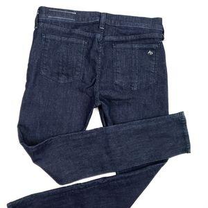 Rag & Bone Mid Rise Skinny Jeans SZ 30 Stretch